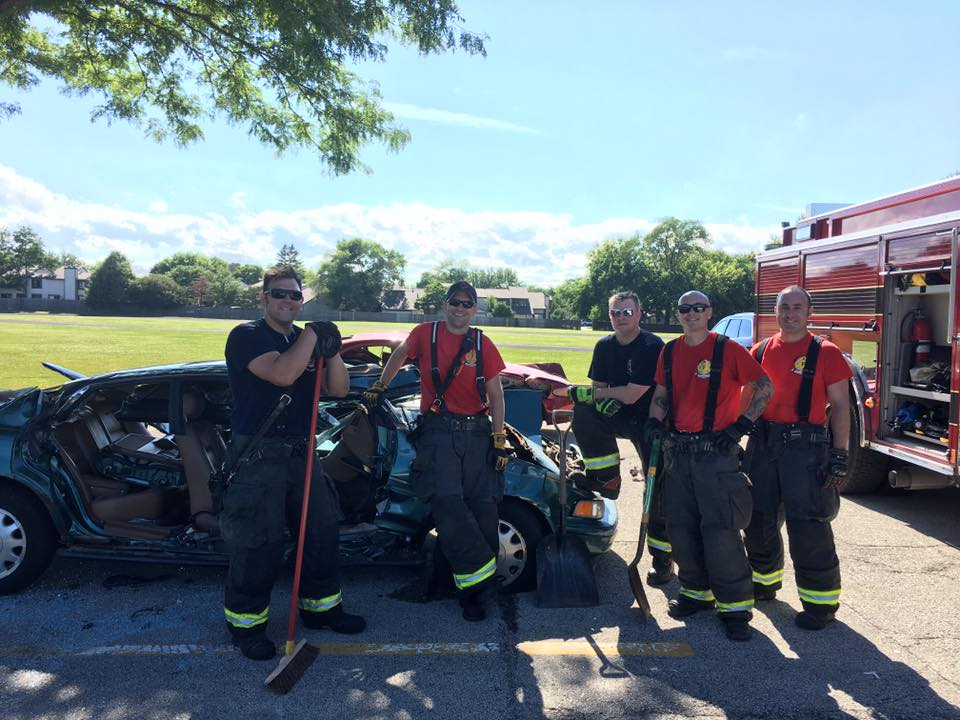 extrication practice - July